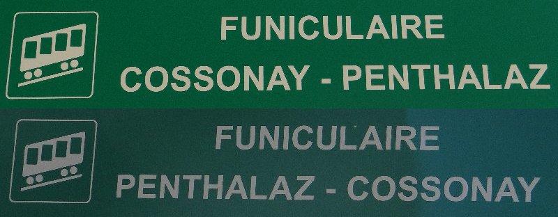 Le funiculaire de Cossonay Gare - Ville (VD, Suisse) (21-06-2014) Cossonay_000