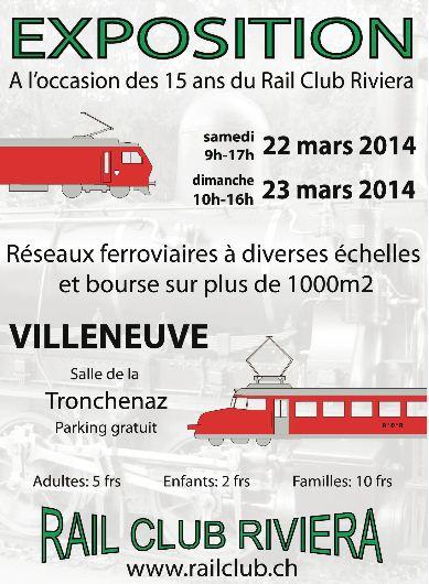 [VD - CH] 2014-03-22 : Expo Rail Club Riviera à Villeneuve 2014-03-22_RCR_000