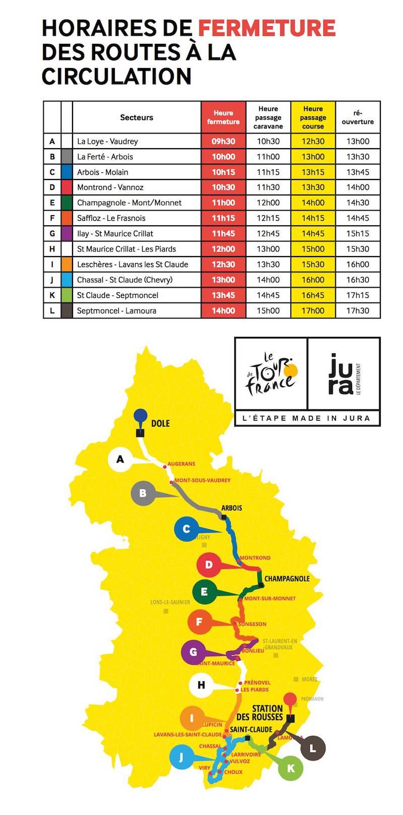 2017-07-07 : Préparatifs du passage du Tour de France à Lamoura (39) 2017-07-08_tour_de_france_01