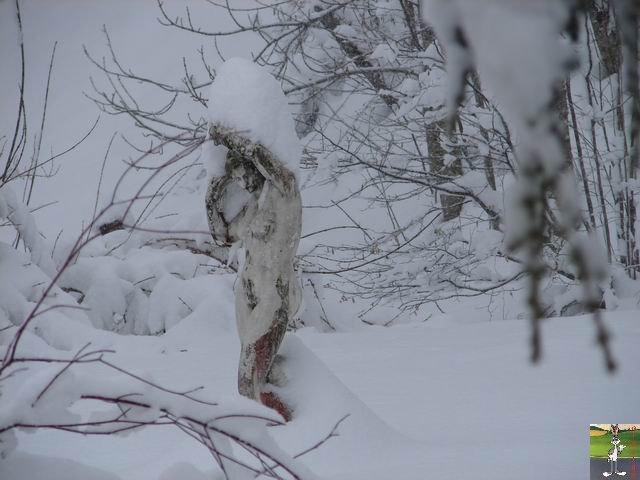 Chutes de neige durant le week-end de Pâques 2008 La_Mainmorte_02