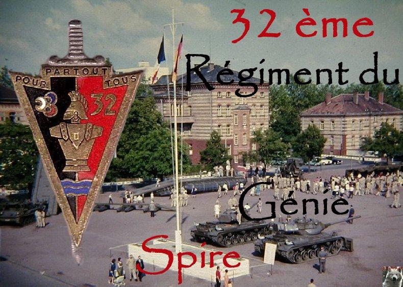32 ème Régiment du Génie - Spire