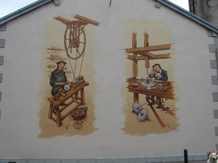 Les Fresques Murales - Saint-Claude (39) - 03-07-2007 0001