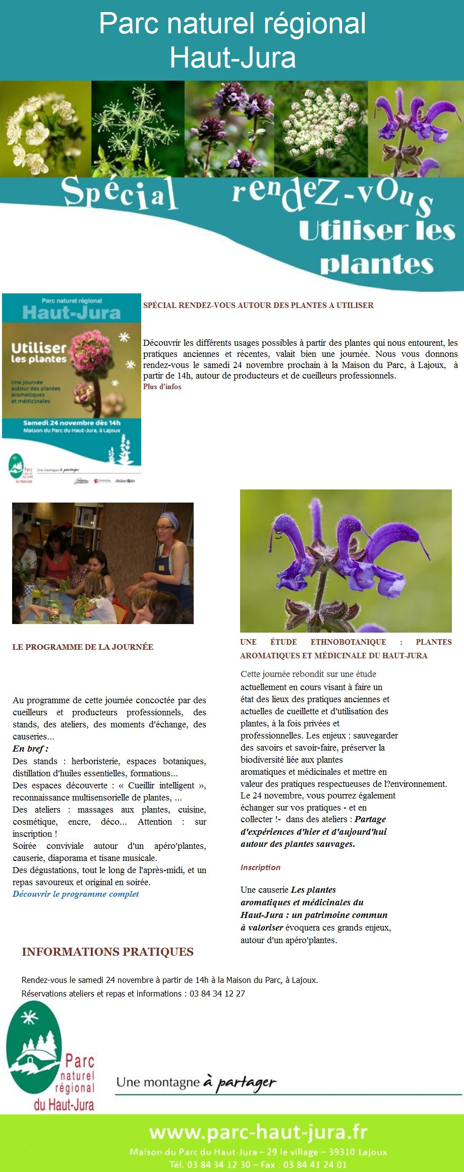 Les plantes - conférence par la Maison du Parc - 24 novembre 2012 2012-11-10_info_parc_01