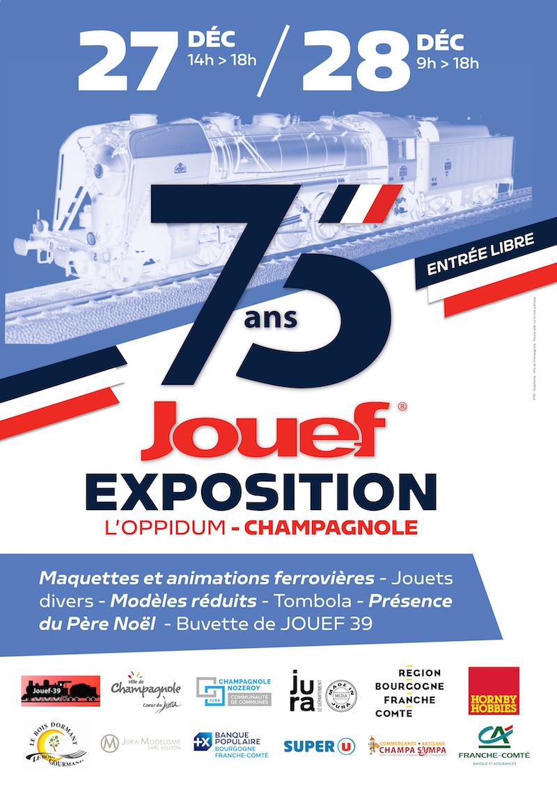 [39] Champagnole : Expo 75 ans de JOUEF l'Oppidum - 27 et 28 Décembre 2019 2019-12-28_Jouef_Champagnole_001