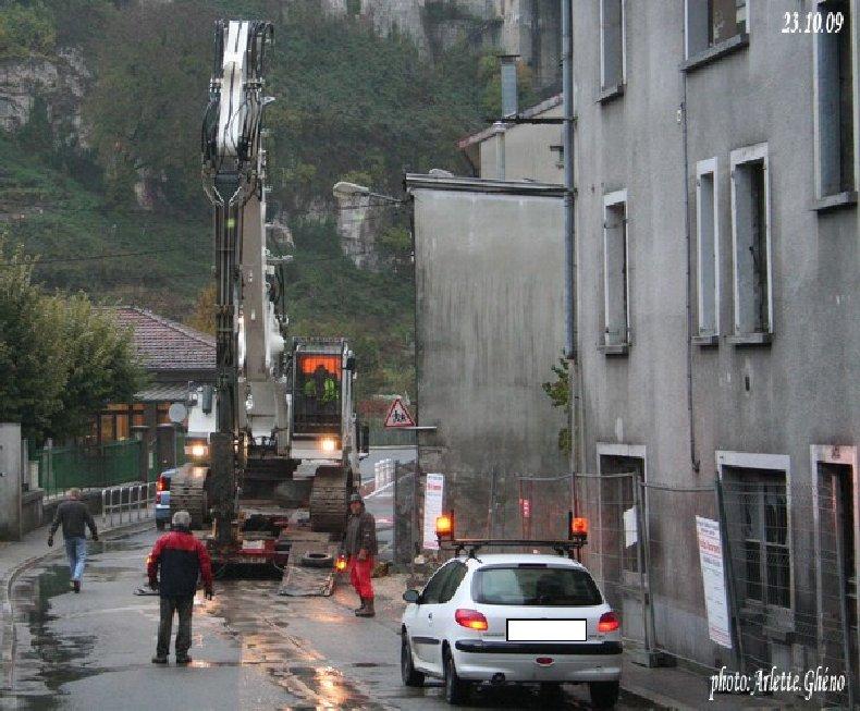 Démolition d'immeuble au Fb Marcel à St-Claude (39) Fbm_04