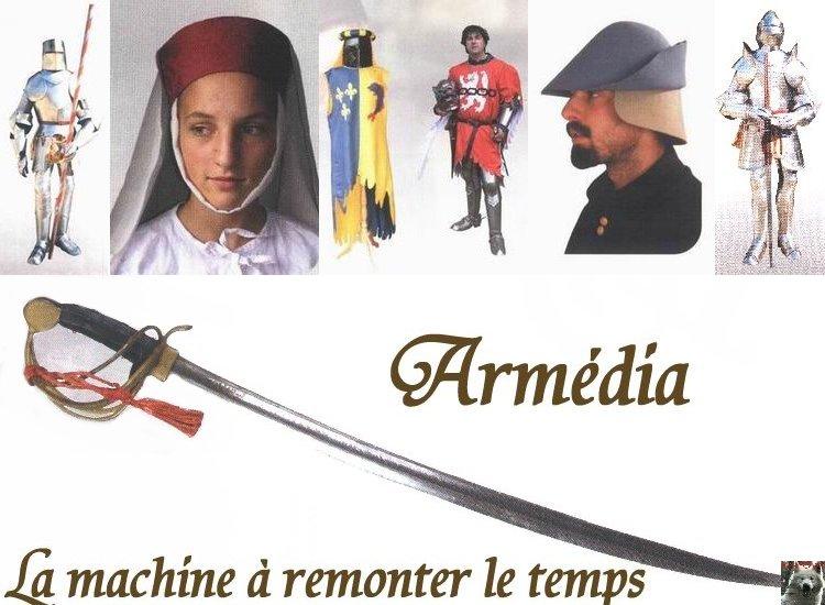Armédia - La Machine à remonter le temps -Morez- 17/06/2008 Logo