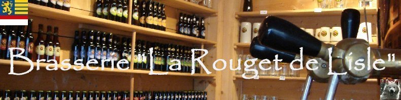 """La brasserie """"La Rouget de Lisle"""" Bletterans Logo"""