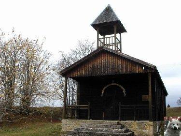 008 - Les Molunes (39) La chapelle de Cariche 0004