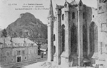002 - St Claude (39) La cathédrale des Trois Apôtres (St Pierre, St Paul, St André) 0004a