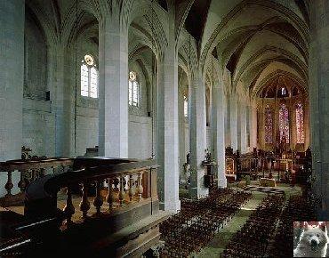 002 - St Claude (39) La cathédrale des Trois Apôtres (St Pierre, St Paul, St André) 0012