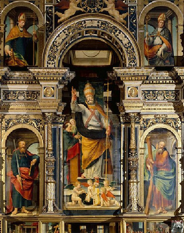 002 - St Claude (39) La cathédrale des Trois Apôtres (St Pierre, St Paul, St André) 0021