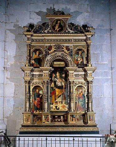 002 - St Claude (39) La cathédrale des Trois Apôtres (St Pierre, St Paul, St André) 0022