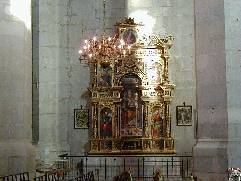 002 - St Claude (39) La cathédrale des Trois Apôtres (St Pierre, St Paul, St André) 0024