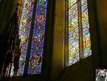 002 - St Claude (39) La cathédrale des Trois Apôtres (St Pierre, St Paul, St André) 0027