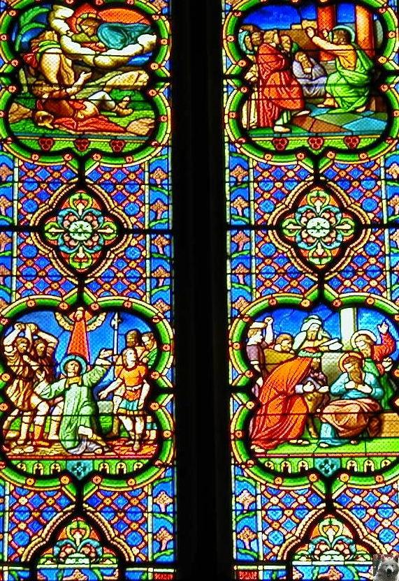 002 - St Claude (39) La cathédrale des Trois Apôtres (St Pierre, St Paul, St André) 0030