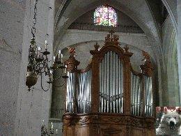 002 - St Claude (39) La cathédrale des Trois Apôtres (St Pierre, St Paul, St André) 0034