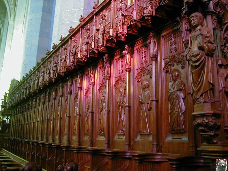 002 - St Claude (39) La cathédrale des Trois Apôtres (St Pierre, St Paul, St André) 0043