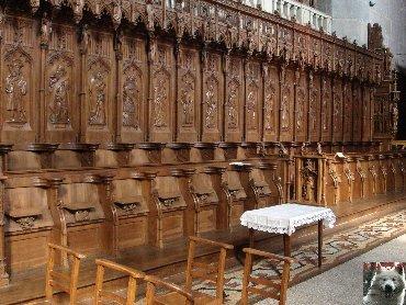 002 - St Claude (39) La cathédrale des Trois Apôtres (St Pierre, St Paul, St André) 0046