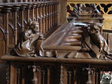 002 - St Claude (39) La cathédrale des Trois Apôtres (St Pierre, St Paul, St André) 0050