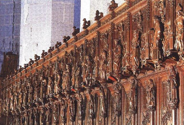 002 - St Claude (39) La cathédrale des Trois Apôtres (St Pierre, St Paul, St André) 0052