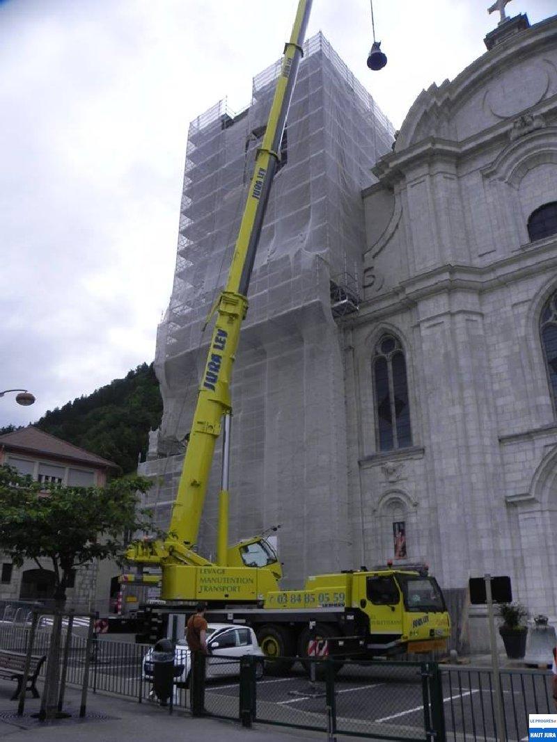 2017-07-12 : Descente de deux cloches de la cathédrale de St-Claude (39) 2017-07-12_cloches_01
