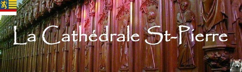 002 - St Claude (39) La cathédrale des Trois Apôtres (St Pierre, St Paul, St André) Logo