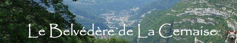 Le Belvédère de la Cernaise (39) 1 100 m d'altitude Logo