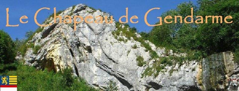 Le Chapeau de Gendarme - Les Lacets de Septemoncel (39). Logo