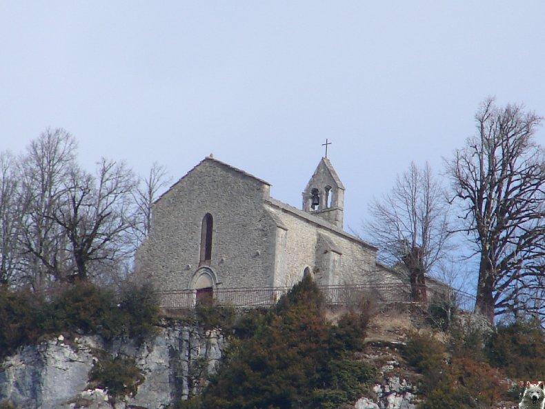 004 - St-Romain / Pratz (39) La chapelle de St-Romain de Roche 0004