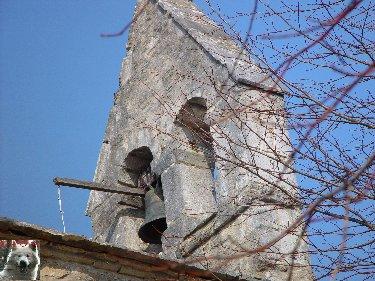 004 - St-Romain / Pratz (39) La chapelle de St-Romain de Roche 0005