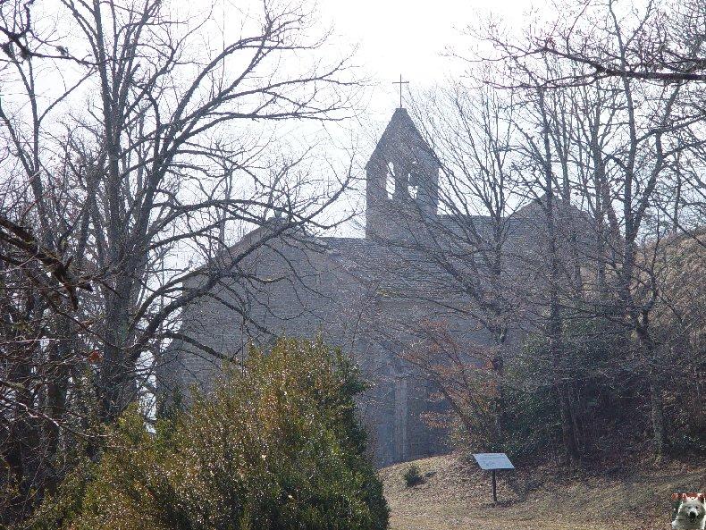 004 - St-Romain / Pratz (39) La chapelle de St-Romain de Roche 0009