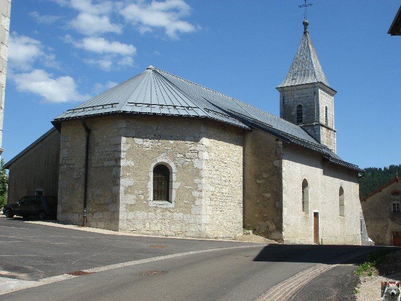 007 - Les Moussières (39) L'église St Joseph 0019