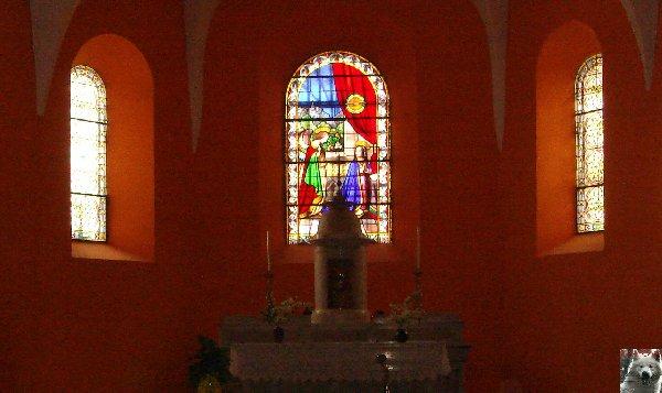 009 - Les Bouchoux (39) L'église de l'Assomption 0033a