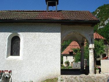 010 - Vaucluse / St Claude (39) La chapelle ND de Pitié 0038
