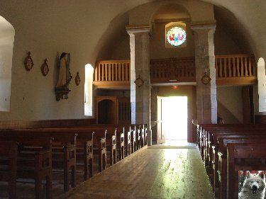 011 - Cinquétral / St-Claude (39) L'église 0050