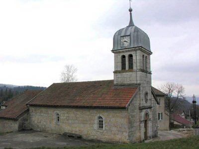 011 - Cinquétral / St-Claude (39) L'église 0054