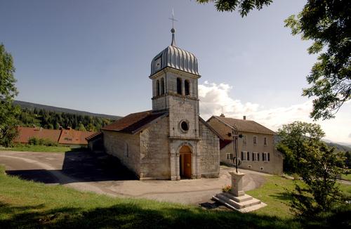011 - Cinquétral / St-Claude (39) L'église 0054a