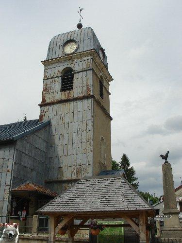 020 - La Pesse (39) L'église de l'Assomption 0056