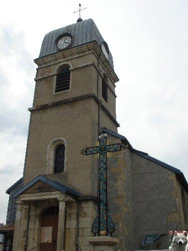 020 - La Pesse (39) L'église de l'Assomption 0057