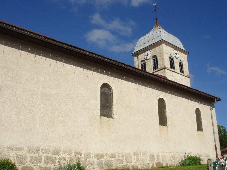 014 - Lamoura (39) L'église St François de Sales 0081