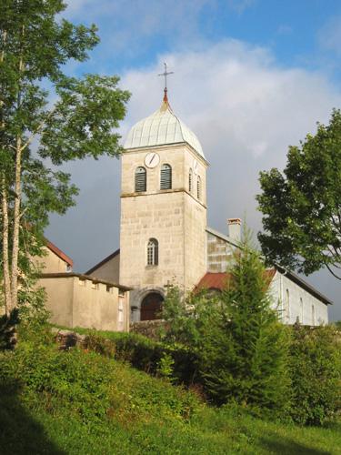 014 - Lamoura (39) L'église St François de Sales 0090a