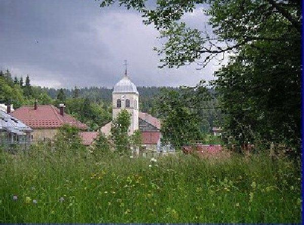 014 - Lamoura (39) L'église St François de Sales 0091