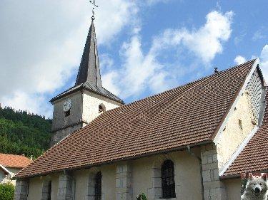 022 - La Rixouse (39) L'église St Cyr et Ste Julitte 0158