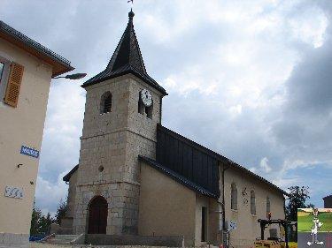 016 - Prémanon (39) L'église St Barthélémy  0189e