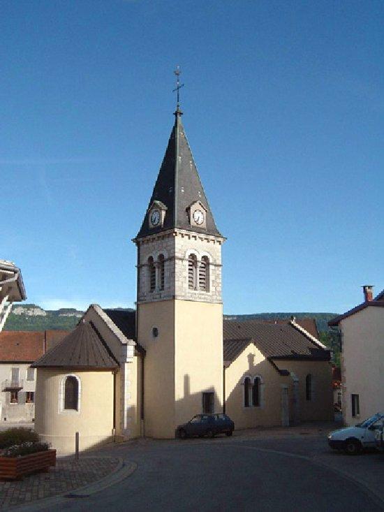 041 - Lavans les St Claude (39) L'église de l'Assomption 0205