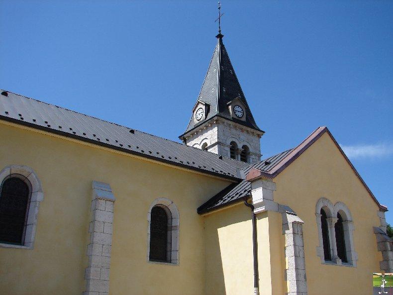 041 - Lavans les St Claude (39) L'église de l'Assomption 0211