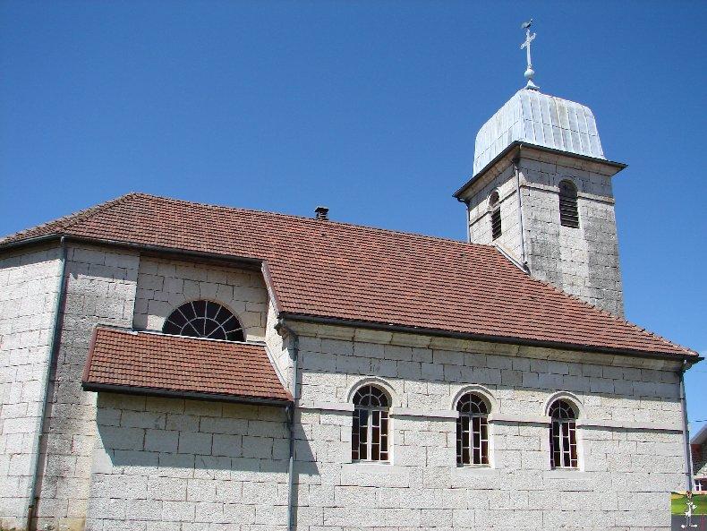 038 - Les Crozets (39) L'église St Antoine 0232