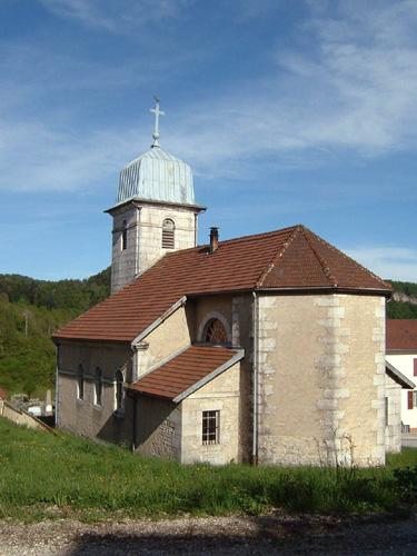 038 - Les Crozets (39) L'église St Antoine 0233