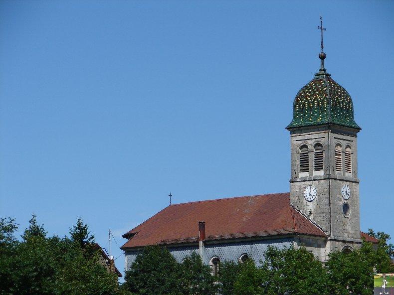 037 -Etival - Les Ronchaux (39) L'église de l'Assomption de la Vierge 0234