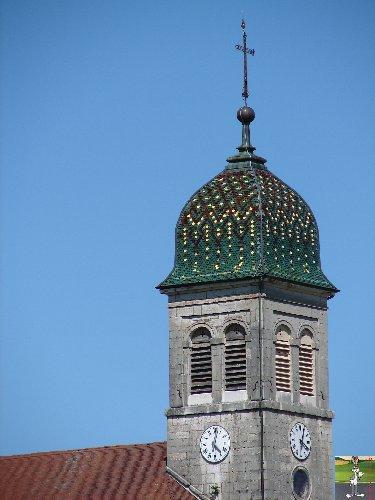 037 -Etival - Les Ronchaux (39) L'église de l'Assomption de la Vierge 0237